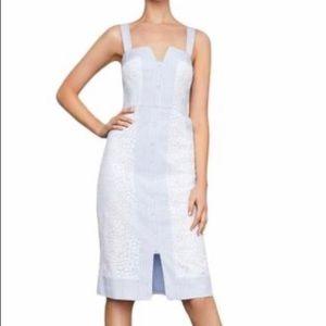 BCBG MAXAZRIA FLORAL DRESS